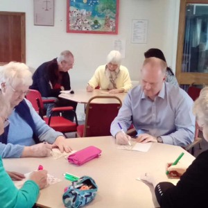 Bingo fun and games for elderly at WHERE