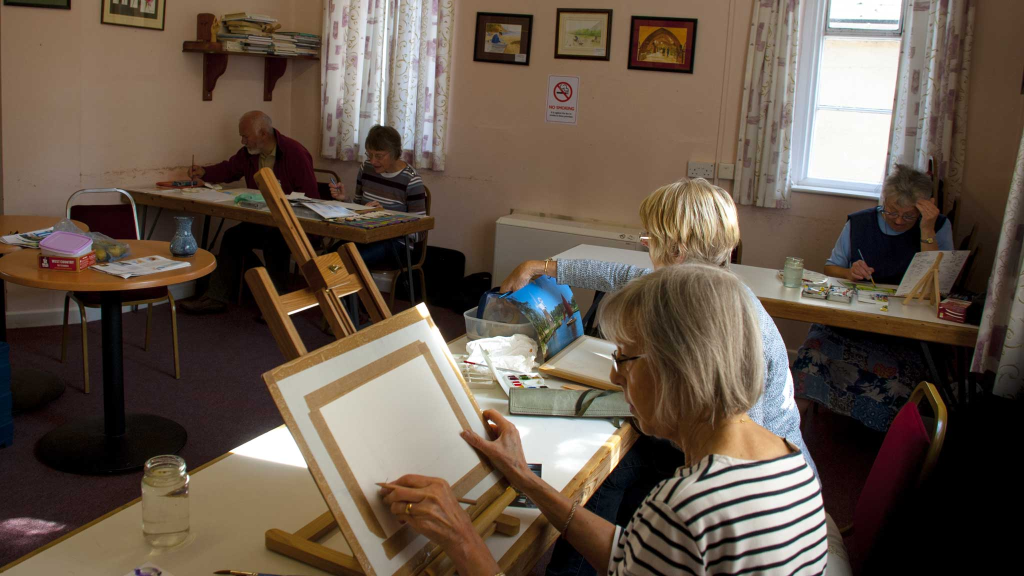 Art Groups in Wellington Active Living Centre