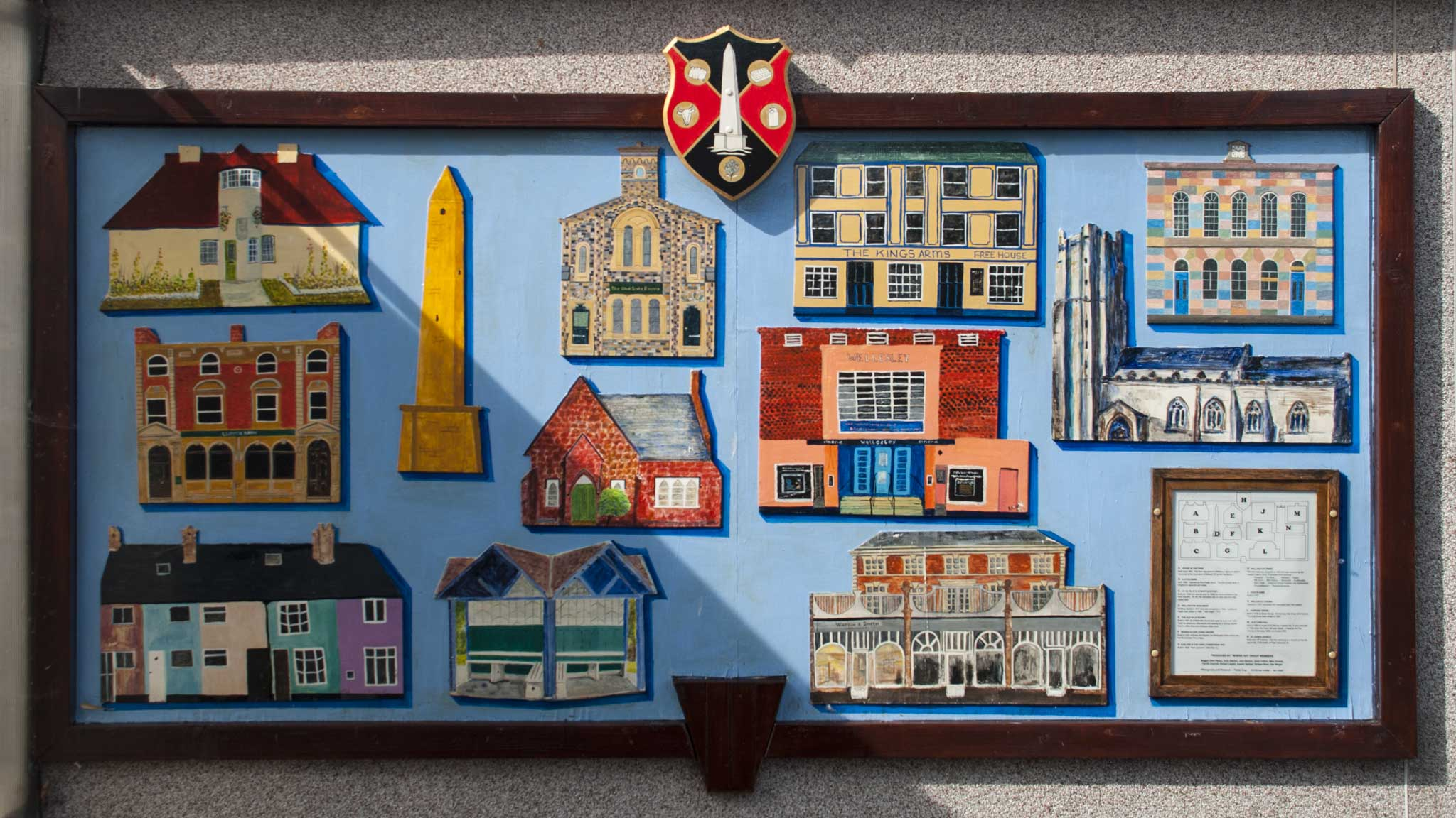mural by wellington craft group based at WHERE