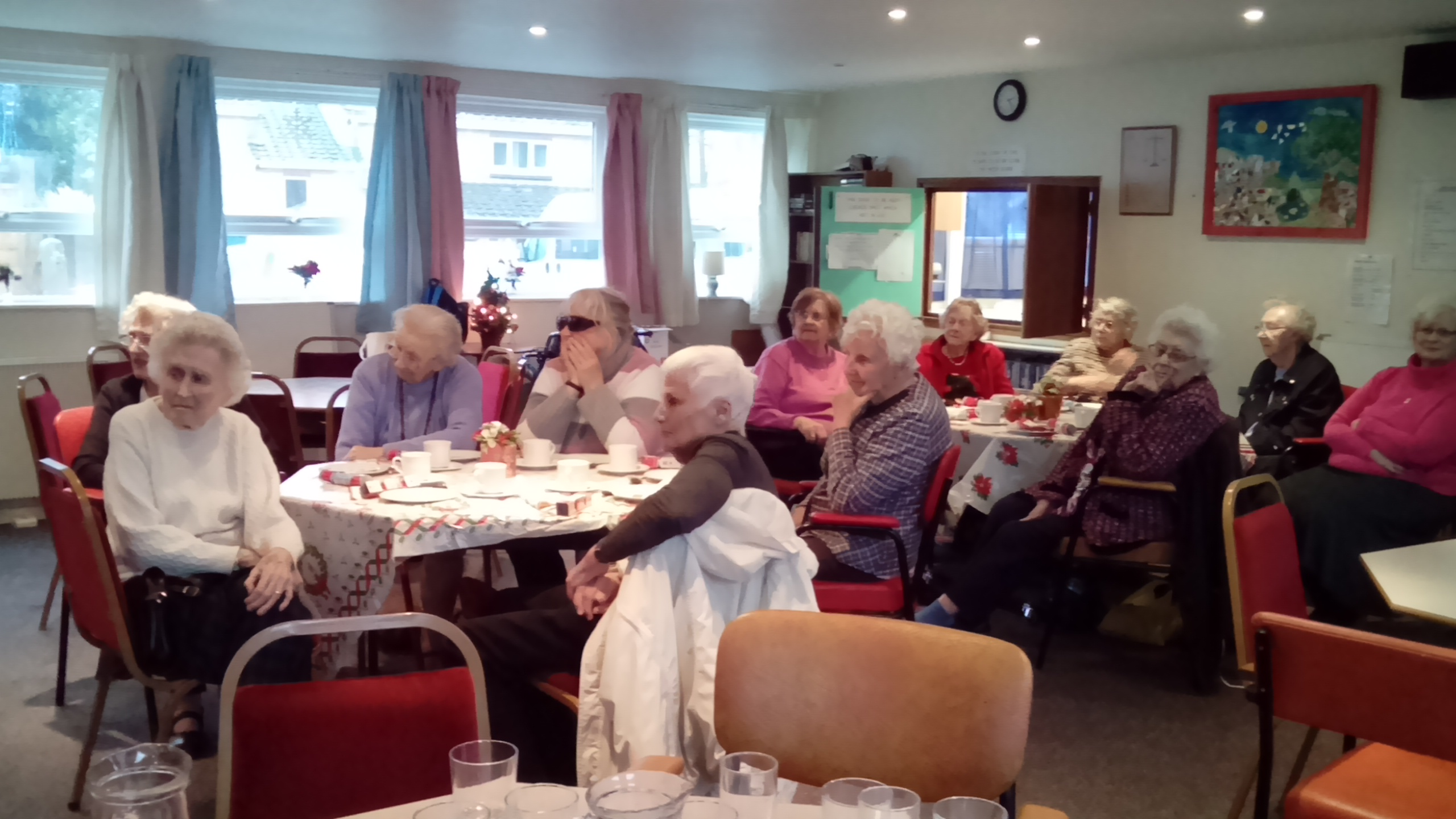 wellington partially sighted group in the WHERE Active Living Centre in Wellington Somerset